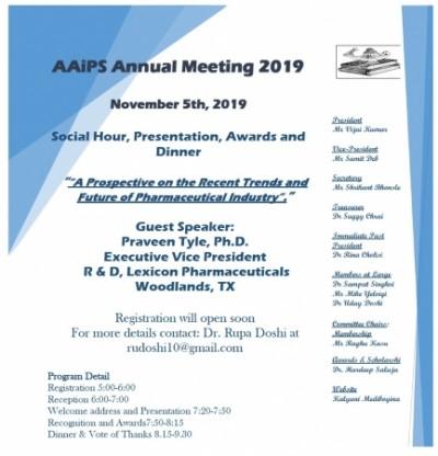 AAiPS Annual Meeting 2019
