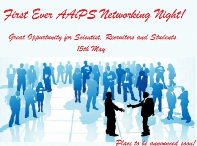 AAiPS Networking Night Tonight!
