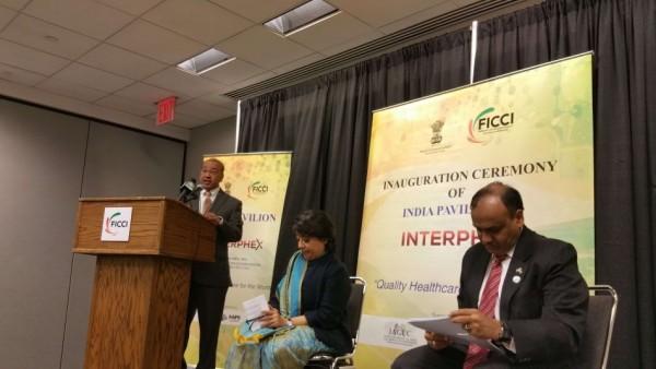 President of AAiPS, Dr. Mehta